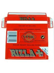 נייר גלגול ריזלה אדום רגיל RIZLA *במלאי מיידי*