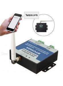 פותח שערים בקר RTU5024 פתיחת שער באמצעות טלפון דור 3 כולל אפליקציה *במלאי מיידי*