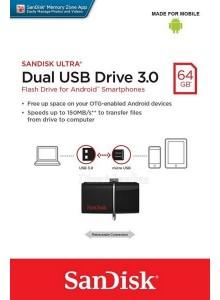 SanDisk Ultra Dual USB 3.0 64GB SDDD2-064GB