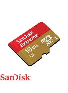 SanDisk Micro SDHC 16GB Extreme SDSDQX-016G-U46A