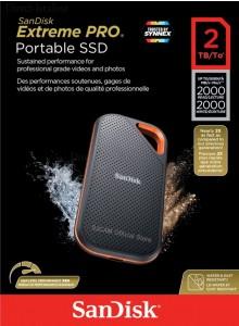 SanDisk 2TB Extreme Portable SSD SDSSDE81-2T00-G25 *במלאי*