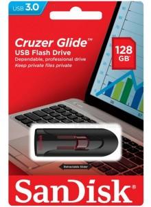 SanDisk Cruzer Glide USB 3.0 128GB SDCZ600-128G-G35