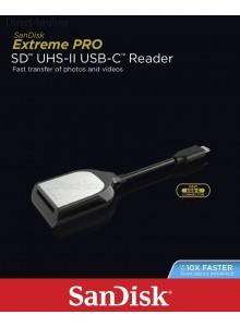 קורא/כותב כרטיסים Sandisk Extreme Pro SD UHS-II USB-C SDDR-409-G46 *במלאי מיידי*