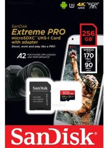 SanDisk Extreme Pro SDSQXCZ-256G 256GB
