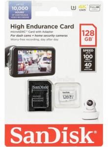 SanDisk High Endurance Micro SDXC 128GB SDSQQNR-128G