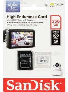 SanDisk High Endurance Micro SDXC 256GB SDSQQNR-256G