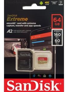 SanDisk Micro SDXC 64GB Extreme A2 SDSQXA2-064G