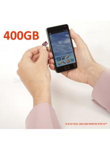 SanDisk Ultra microSDXC 400GB SDSQUAR-400G כרטיס זכרון
