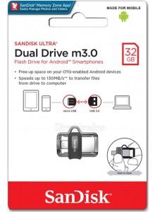 SanDisk Ultra Dual Drive 32GB m3.0 SDDD3-032G