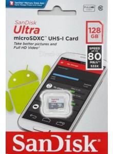 SanDisk Ultra Micro SDXC 128GB SDSQUNS-128G