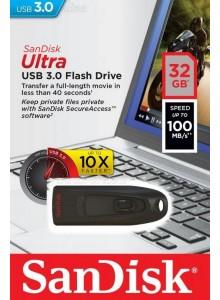 SanDisk Ultra USB 3.0 32GB SDCZ48 *במלאי מיידי*