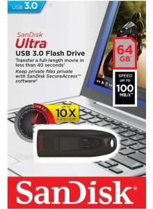 SanDisk Ultra USB 3.0 64GB SDCZ48 *במלאי מיידי*