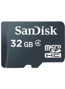 SanDisk Micro SDHC 32GB SDSDQ-032G כרטיס זיכרון