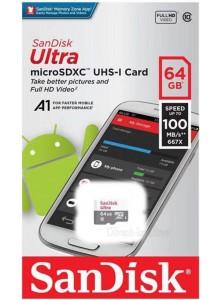 SanDisk Ultra Micro SDXC 64GB SDSQUNR-064G