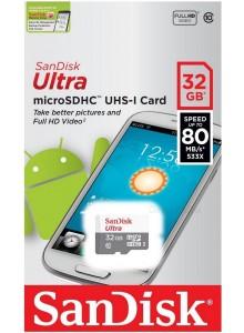 SanDisk Ultra MicroSDHC 32GB SDSQUNS-032G