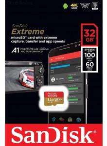SanDisk Micro SDXC 32GB Extreme SDSQXAF-032G