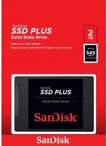 SanDisk SSD PLUS 2TB SDSSDA-2T00 *במלאי*
