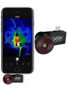 מצלמה תרמית לסמארטפון אנדרואיד/אייפון לאיתור נזילות מים דליפות חום וצייד לילי Seek Thermal CompactPRO *במלאי מיידי*