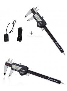 """קליבר דיגיטלי עמיד למים מפלדה 150 מ""""מ עם כניסת USB D5469 *במלאי מיידי*"""