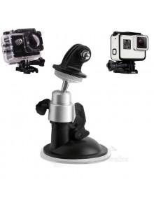 תושבת ואקום נצמדת למצלמת אקסטרים GOPRO / SJCAM D2070 *במלאי מיידי*