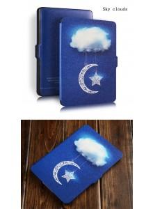 KINDLE PAPERWHITE נרתיק וינטאג Sky Clouds לדגם 2015-2017