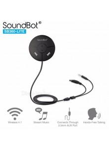 דיבורית בלוטוס לרכב SoundBot SB360-LITE *במלאי מיידי*
