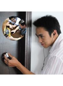 מכשיר האזנה דרך קירות ודלתות