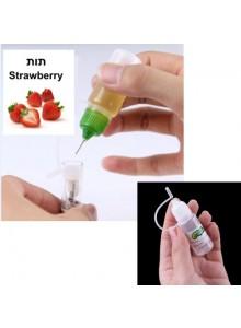 נוזל לסיגריה אלקטרונית בטעם תות 10 מיליליטר