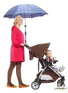 מעמד למטריה ושמשיה לעגלת ילדים D5648 *במלאי מיידי*