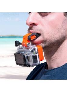 סט מנשך נשכן + מצוף + רצועה לצוואר למצלמת אקסטרים GoPro / SJCAM D4231