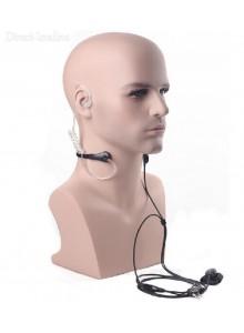 אוזניית מאבטחים עם מיקרופון למכשיר קשר Baofeng BF-888S BF-88E *במלאי מיידי*