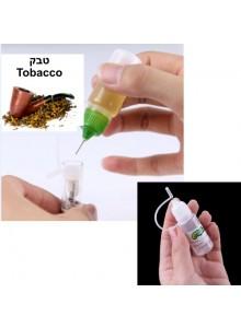 נוזל לסיגריה אלקטרונית בטעם טבק 10 מיליליטר