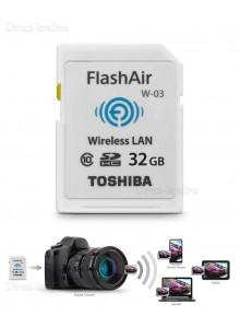 Toshiba 32GB FlashAir SD Wireless W-03 דור 3
