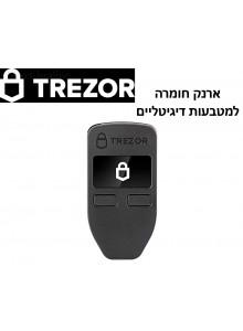 Trezor One *ארנק חומרה מוצפן לביטקוין, איתריום, לייטקוין ורבים נוספים במלאי*
