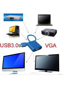 כבל מתאם USB 3.0 to VGA