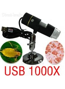 מיקרוסקופ דיגיטלי USB  מגדיל פי 1000*במלאי מיידי*