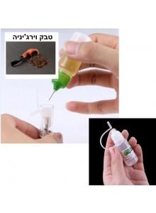 נוזל לסיגריה אלקטרונית בטעם טבק וירגיניה 10 מיליליטר