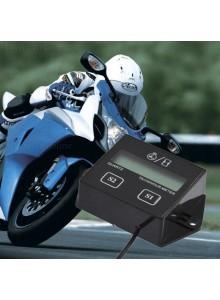 מד שעות פעילות וסיבובי מנוע לאופנועים עם תצוגת LCD *במלאי מיידי*