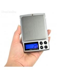 """משקל דיגיטלי 2 ק""""ג דיוק של 0.1 גרם לתכשיטים ZC20601 *במלאי מיידי*"""