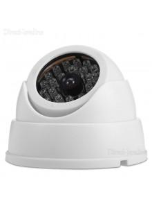 מצלמת אבטחה דמה עם 30 נוריות לד וראש ניתן לכיוון עם לד מהבהב D1670 *במלאי מיידי*