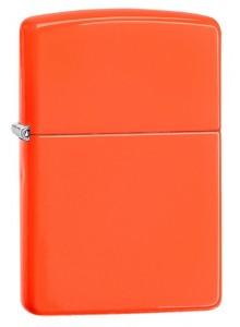 מצית זיפו Zippo 28888 Neon Orange Finish *במלאי מיידי*