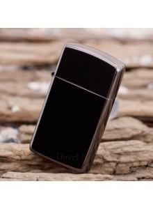 מצית זיפו Zippo 20492 Black Ice Chrome Slim Size *במלאי מיידי*