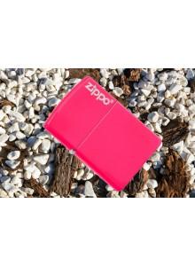 מצית זיפו Zippo 28886ZL Zippo Logo Neon Pink *במלאי מיידי*