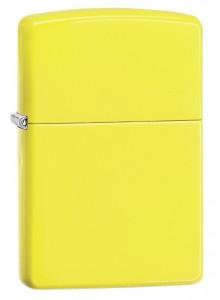 מצית זיפו Zippo 28887 Neon Yellow Finish *במלאי מיידי*