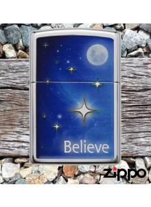 מצית זיפו Zippo 29071 With Moon Stars & Believe *במלאי מיידי*
