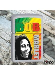 מצית זיפו Zippo 29126 Bob Marley Satin Chrome Finish *במלאי מיידי*