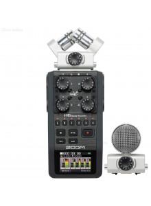 מכשיר הקלטה כף יד ZOOM H6 *במלאי מיידי*