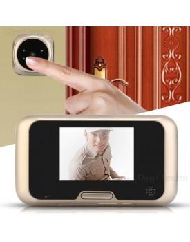 עינית דיגיטלית לדלת 3.2 אינץ עם זום ראיית לילה פעמון וצילום וידאו D1874 *במלאי מיידי*