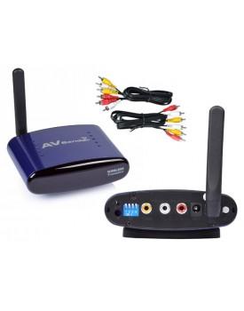 משדר וידאו / אודיו אלחוטי למעקב והאזנה - משדר AVׂ  D2517