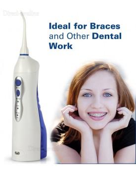 ניקוי שיניים בסילון מים Oral Irrigator נטען FL-V8  *במלאי מיידי*